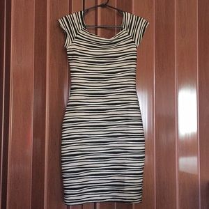 Striped M dress